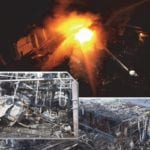 explosion and wreckage at silicon plant