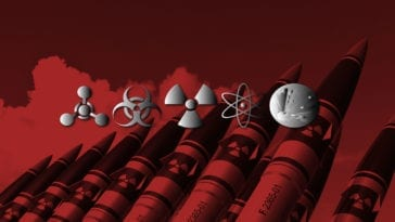 Symbols for chemical, biological, radiological, nuclear and explosive threats